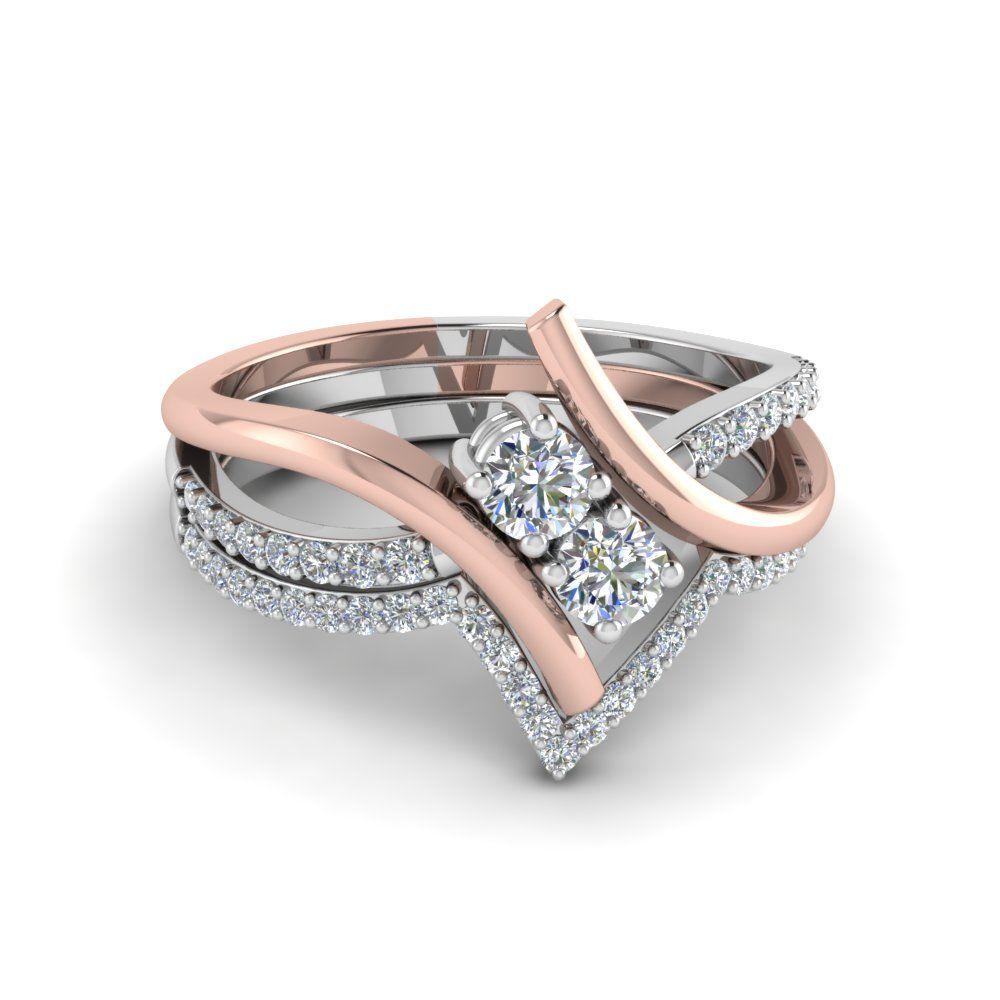 image result for 2 diamond engagement rings | rings | pinterest
