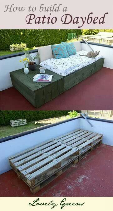 Daybed for the deck