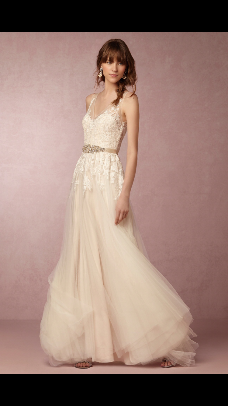 BHLDN Reagan Gown, $480 Size: 0 | Used Wedding Dresses | Gowns ...