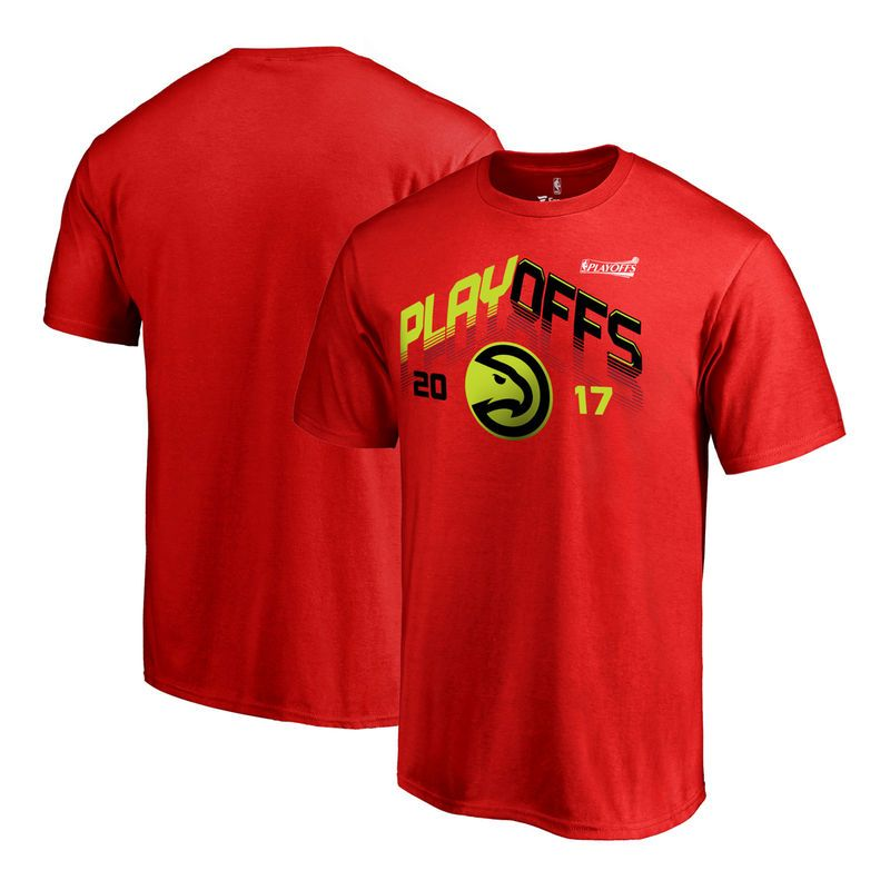 Atlanta Hawks Fanatics Branded 2017 NBA Playoff Participant Triangle Big & Tall  T-Shirt -
