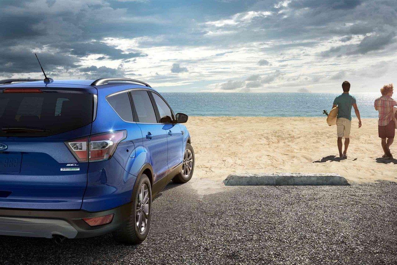 2018 Ford Escape Sel In Lightning Blue Ford Escape Escape Ford