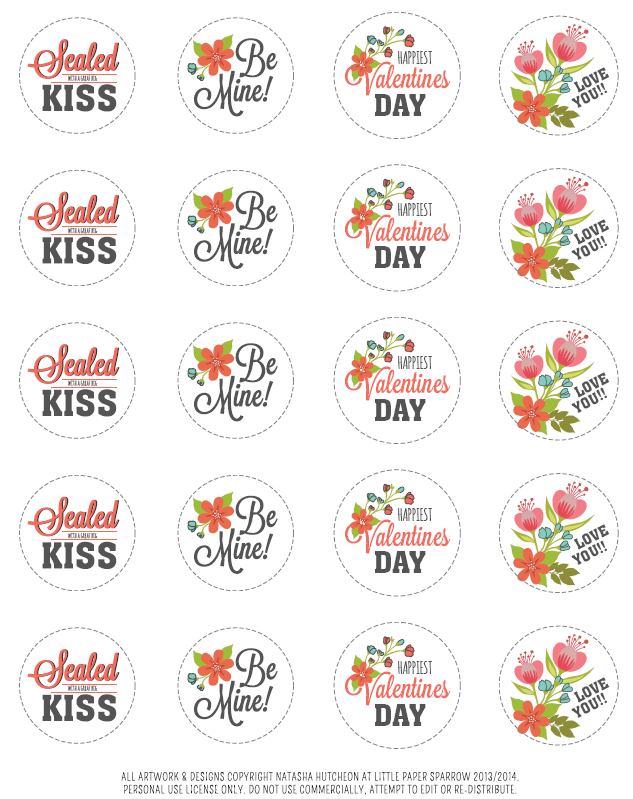 ValentinesDayLabel  ValentineS Day Labels Templates And