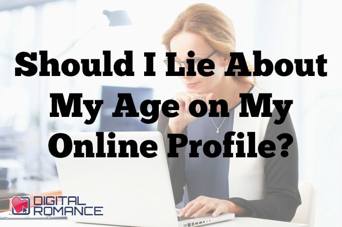Age My On Dating Lied A I Site About