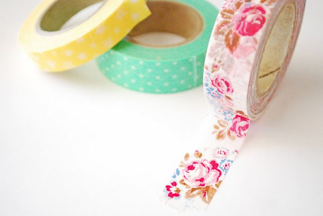 decorative masking tape washi tape Pinterest