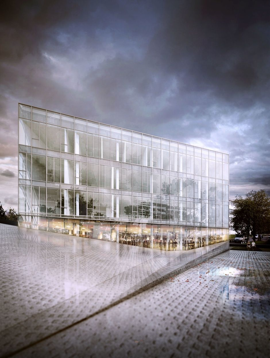 Architectural Visualization 01 By Steven Baconnais Architecture 3d Cgsociety Architecture Rendering Architecture Visualization Architecture