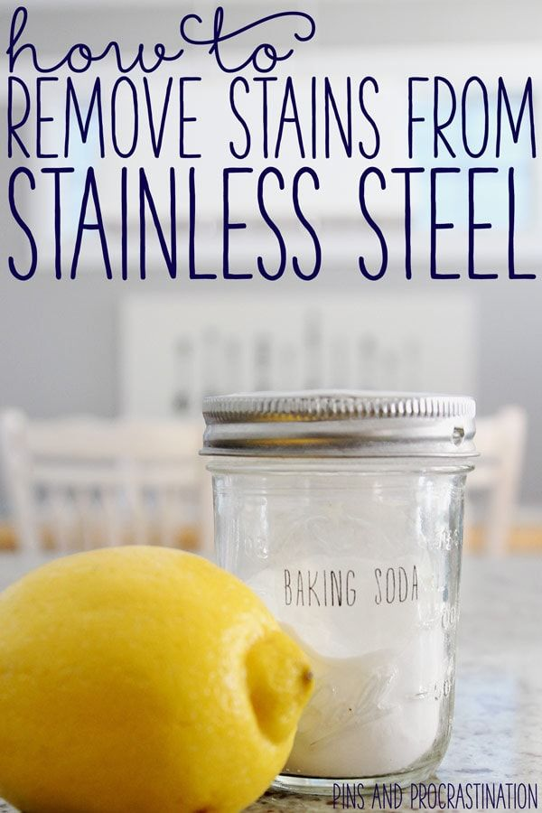 how to clean stainless steel appliances diy