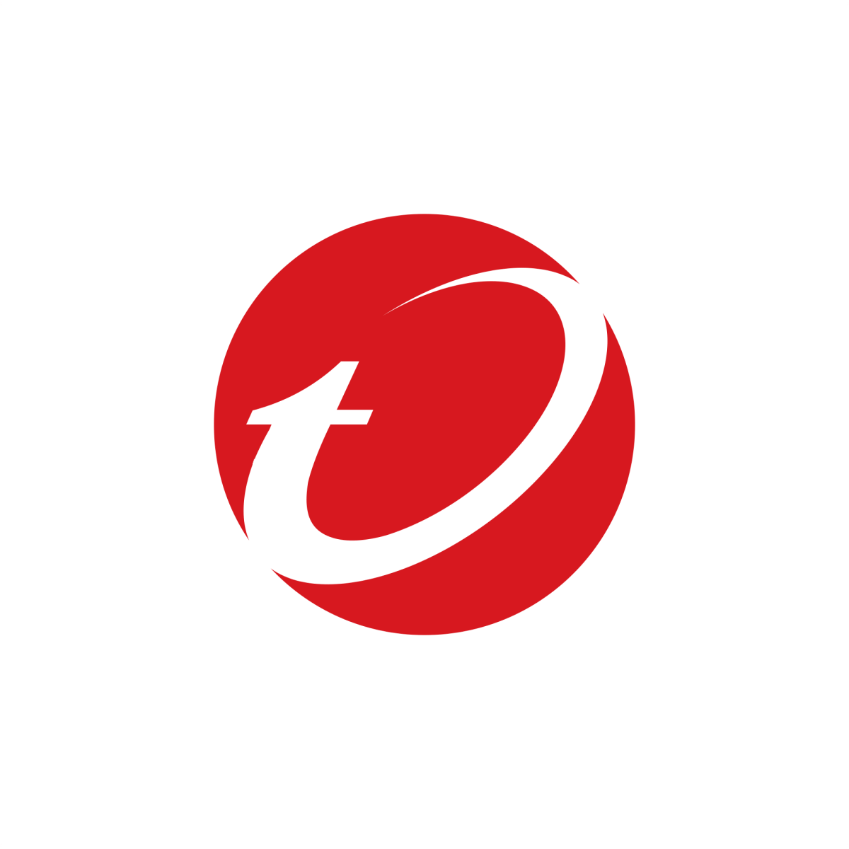 Trend Micro Logo Germany Trend Micro Letter T Lettering