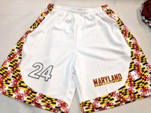 Maryland Lacrosse Shorts Custom Maryland Lacrosse Shorts Lacrosse Pinnies Basketball Shorts Lacrosse
