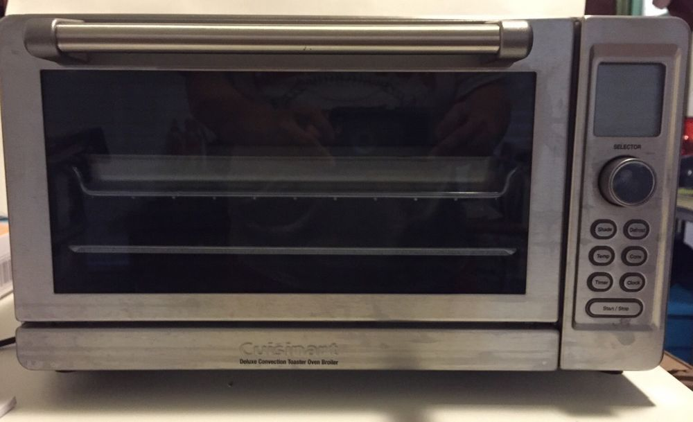 Cuisinart Deluxe Convection Toaster Oven Broiler Stainless Steel Cuisinart Convection Toaster Oven Toaster Oven Toaster