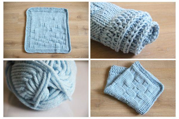54ba680c1 Návod: Pletená deka do kočárku | Výrobky | Pletení, Deky och Háčkování