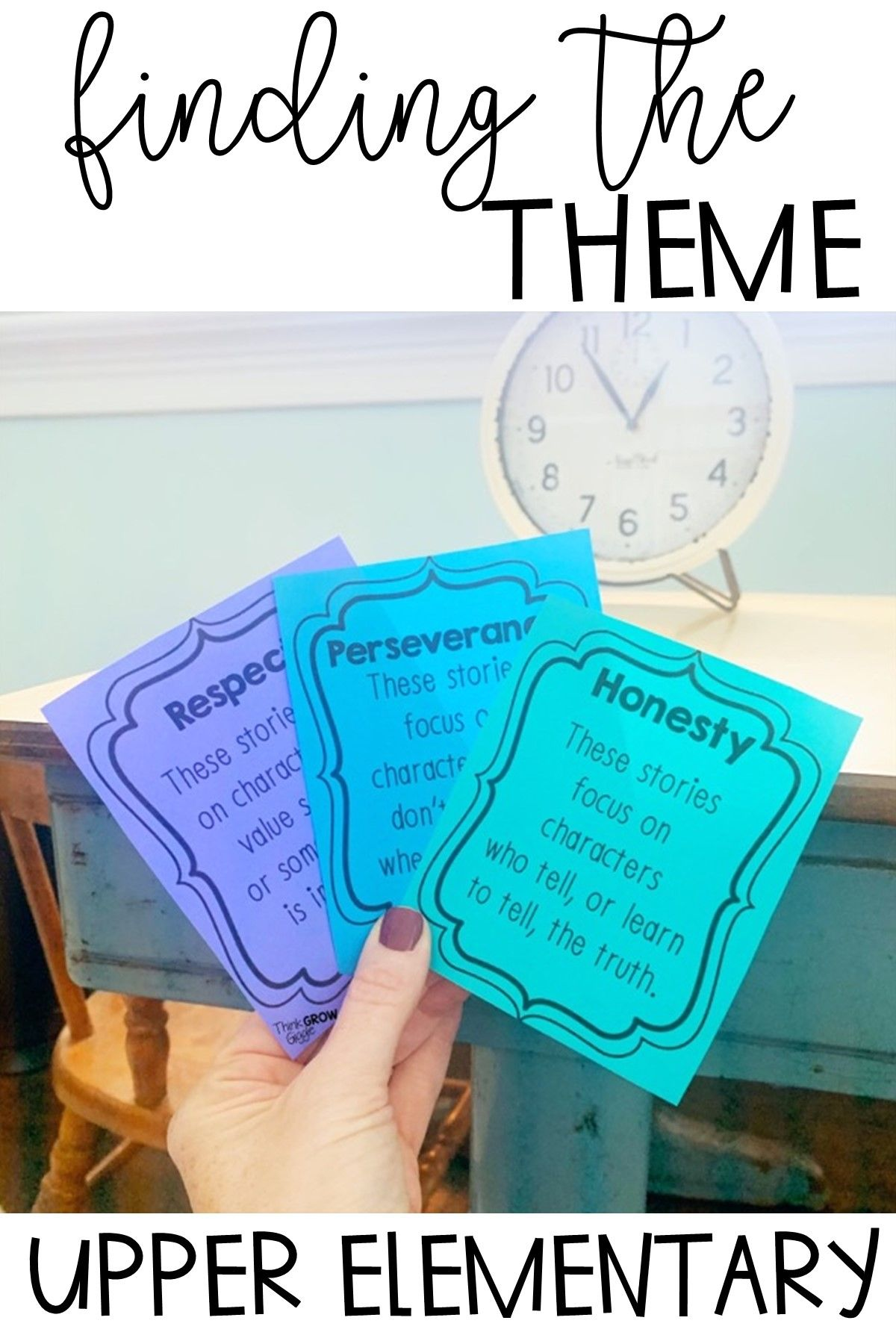 Teaching Theme In Literature Activities And Posters