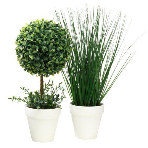 Plante Artificiale Henning 35 X2f 40cm Var Jysk Plants Planter Pots Decor