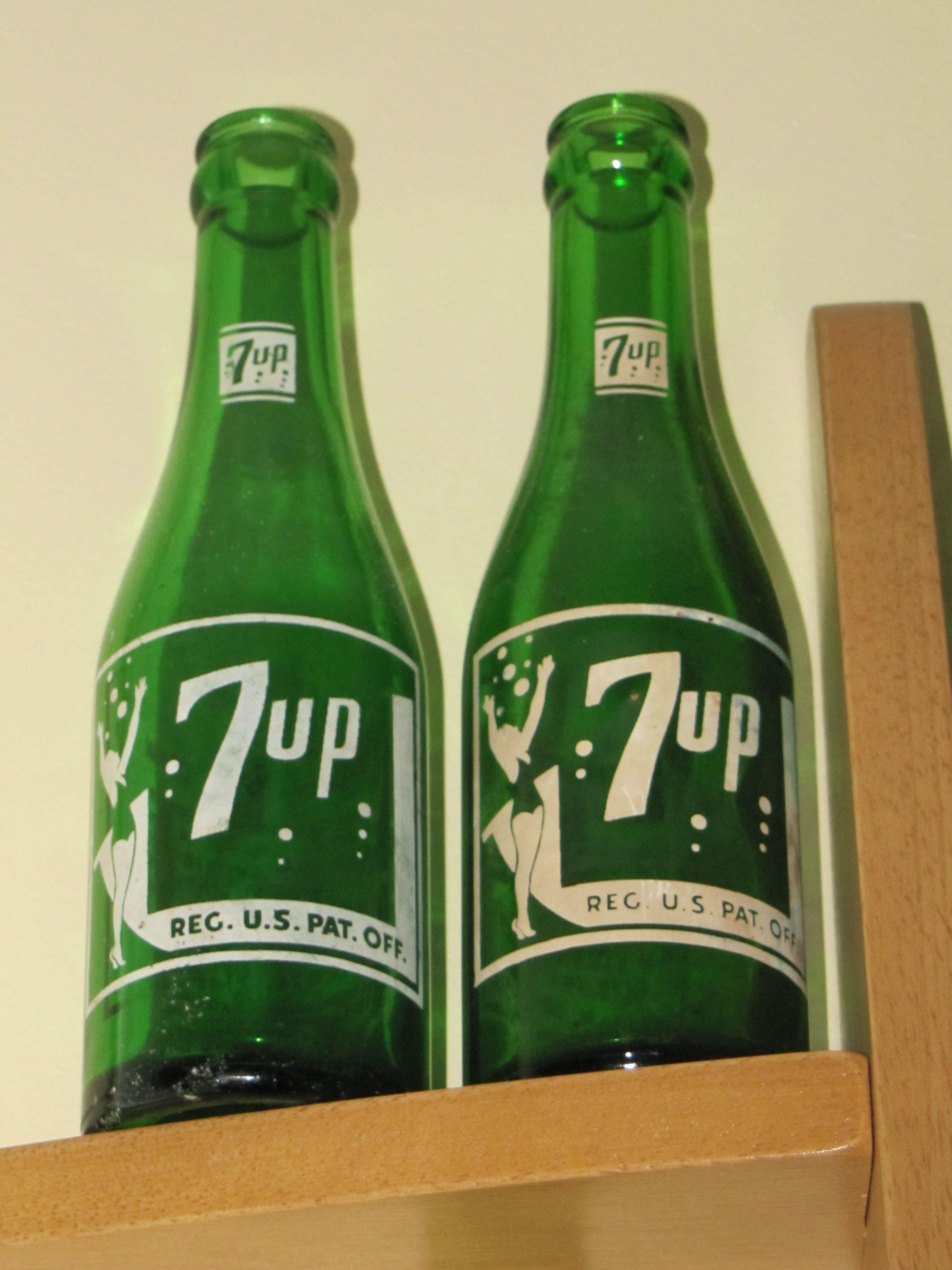 Vintage 7up bottles value