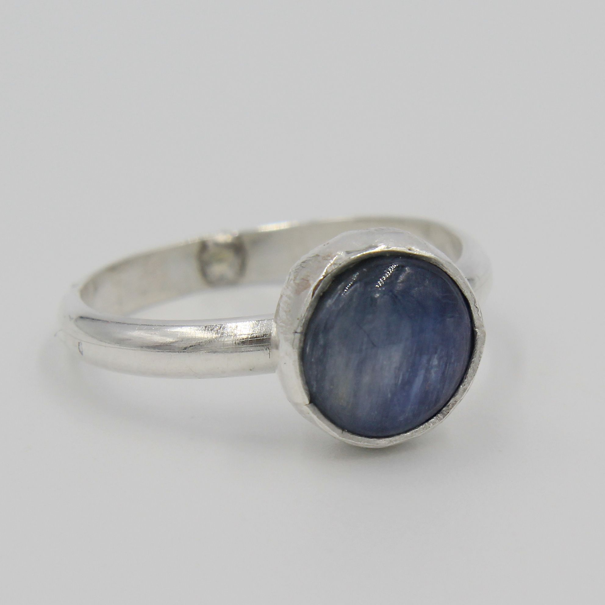 product rings kyanite ring wizard snail silver treasures