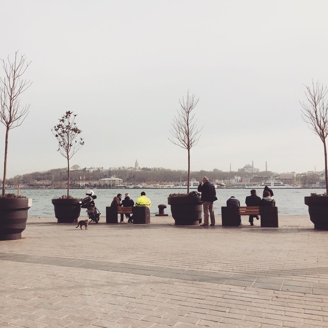Good times when I was zipping vegan chai latte in Karaköy, on a sunny day with a nice view of ayasofya and topkapı sarayı #goodtimes #istanbullove #view #istanbul #sunnyday #istanbulthroughmyeyes #istanbuldayasam #huntgramturkey #vscotravel #turkey #citylove #bosporus #boats #water #river #travelturkey #traveldiary #wanderlust #instatravel #vegangirl #veganistanbul #coffeebreak #whatvegansdrink #plantbased #vegan #chailatte #ayasofya #topkapısarayı #fernweh