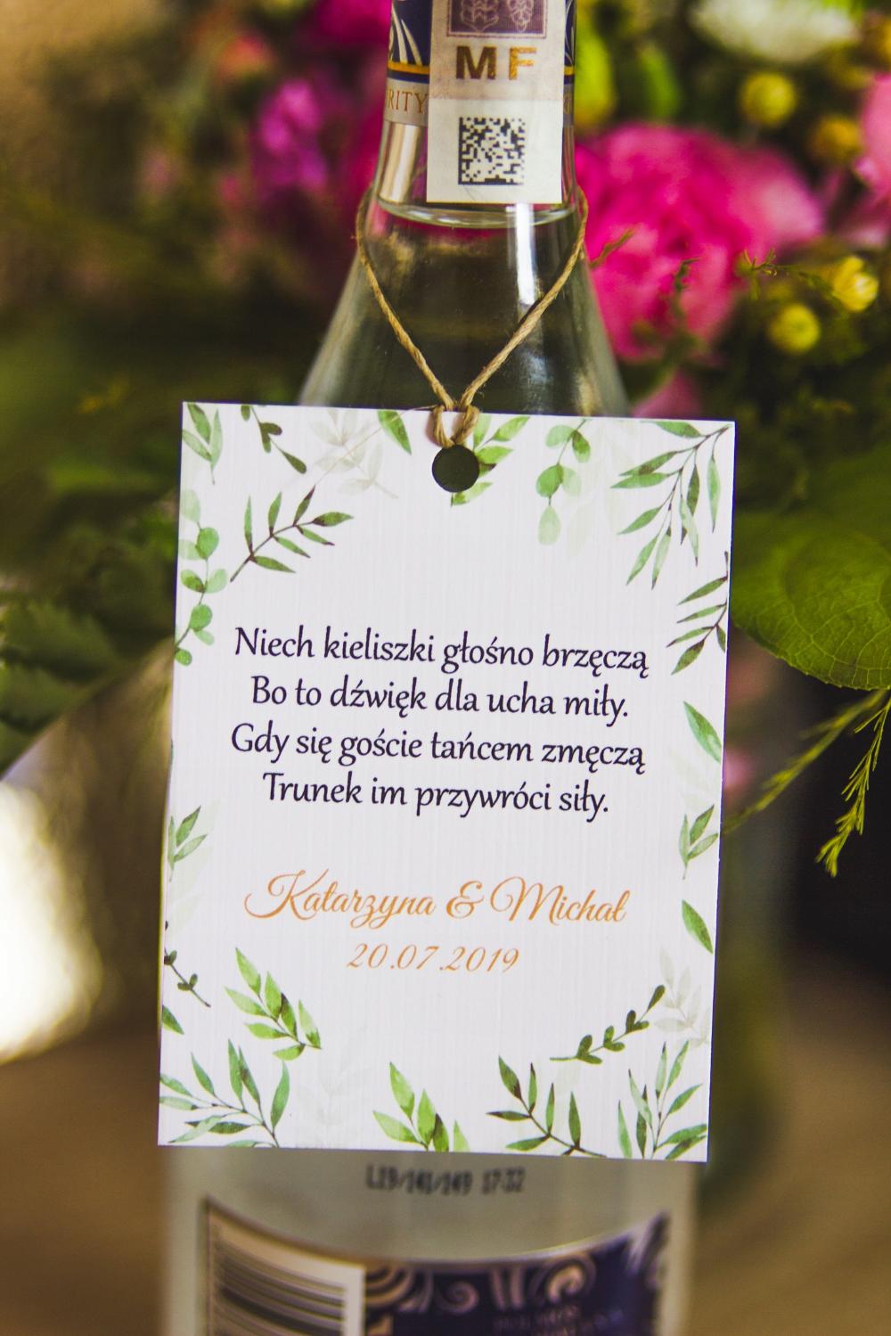 Kup Teraz Na Allegro Pl Za 3 80 Zl Zawieszki Weselne Na Alkohol Lesne Liscie 10szt 8354859590 Allegro Pl Rado Wedding Decorations Wedding Day Wedding