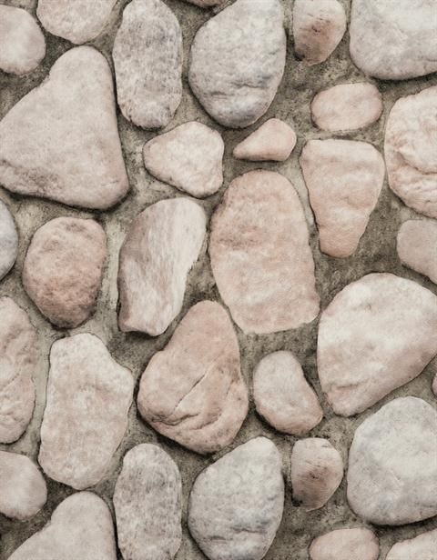 Black Faux River Rock Stone Wallpaper With Reddish Hues From Modern Rustic Collection Pattern Rn1067 Stone Wallpaper Modern Rustic River Rock