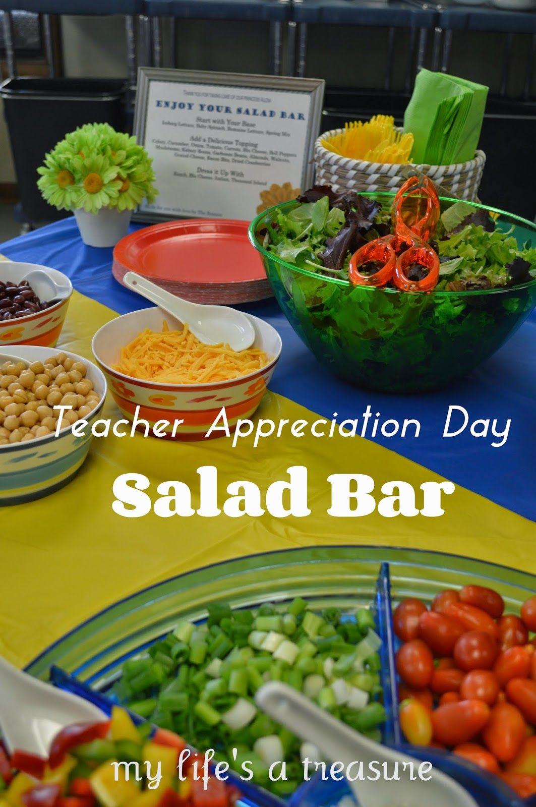 CHURCH SALAD LUNCHEON   pictured words  Salad Bar Luncheon Ideas