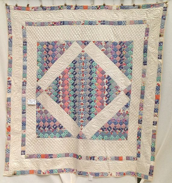 1940s Antique Quilt with Boston Common Pattern