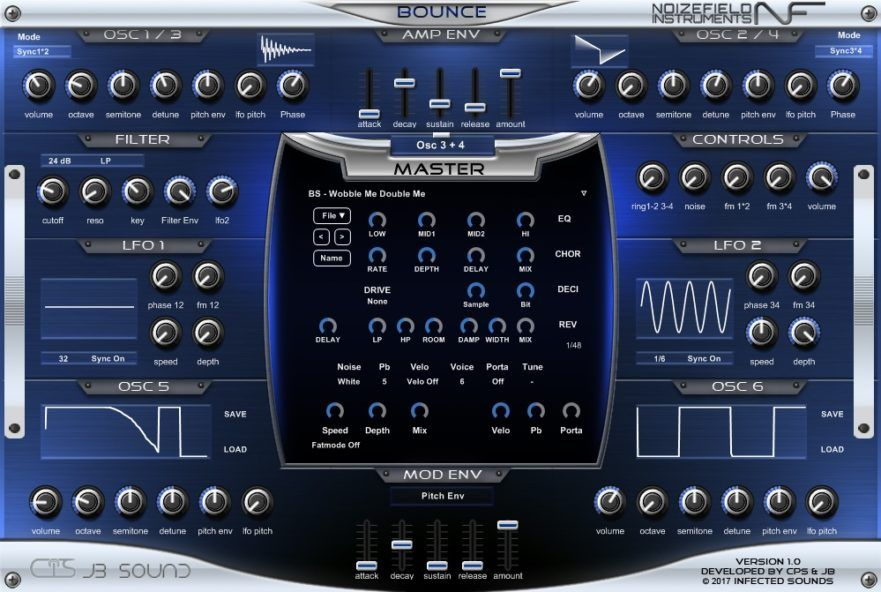 Bounce Free Future House synth by Synth, Music software