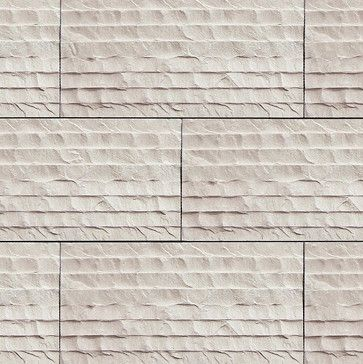 KW to DM: Stone siding. Coronado Chiseled Limestone Tile - Color ...