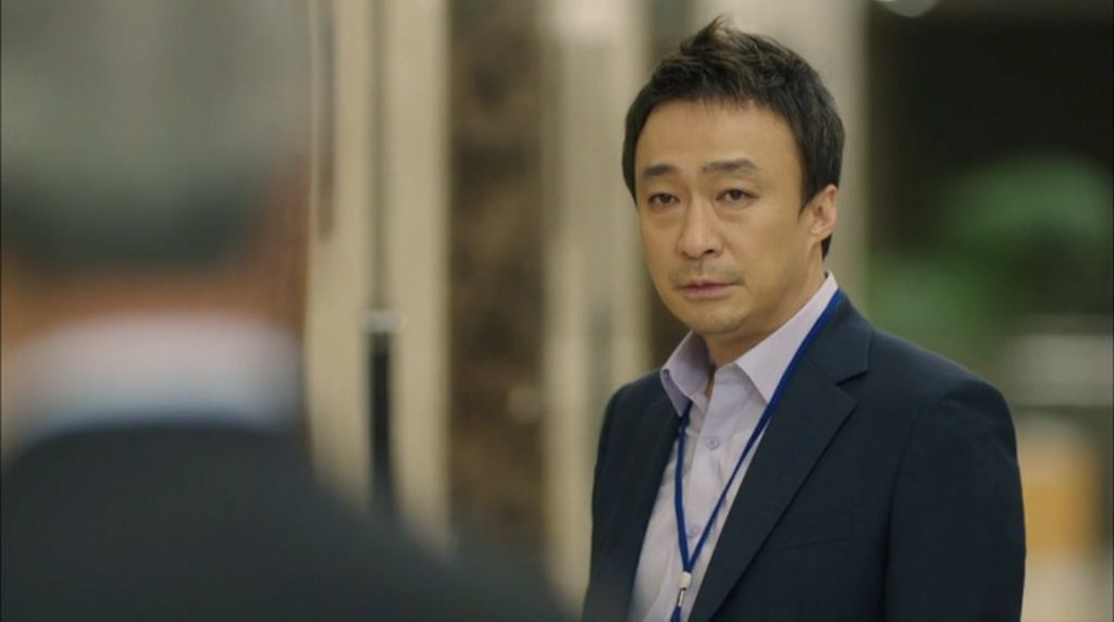 Misaeng: Mr. Oh's epic stare.