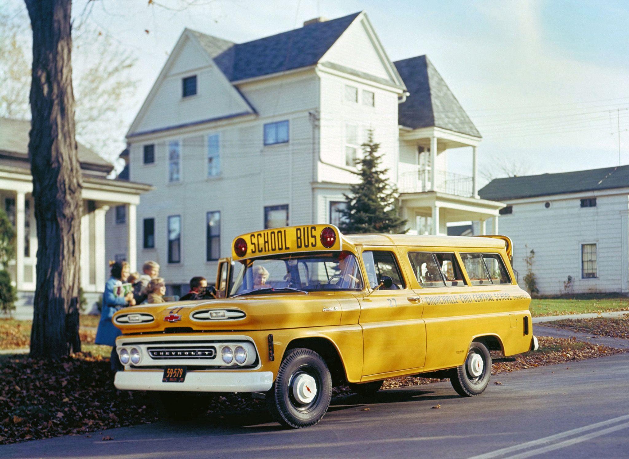 Chevrolet Suburban School Bus 1959 Chevrolet Suburban School