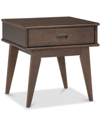 Furniture Closeout Ednie End Table Reviews Furniture Macy S
