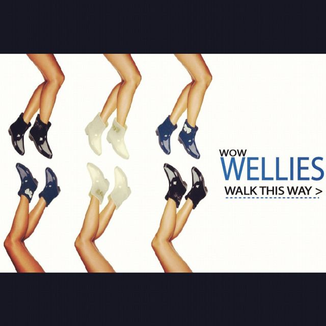 Wow Wellies - Walk This Way to our new homepage #shoes #shoestagram #melshoes #style #wellies