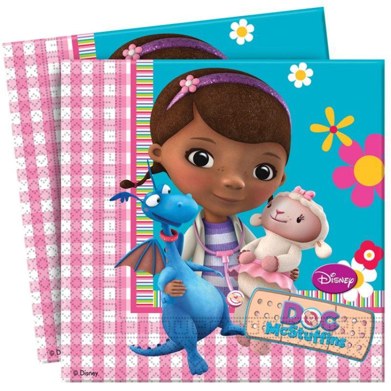 Doc McStuffins Party Paper Napkins | Doc Mcstuffin | Pinterest ...