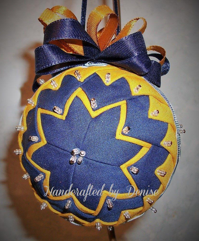 US NAVY ~fabric ornament