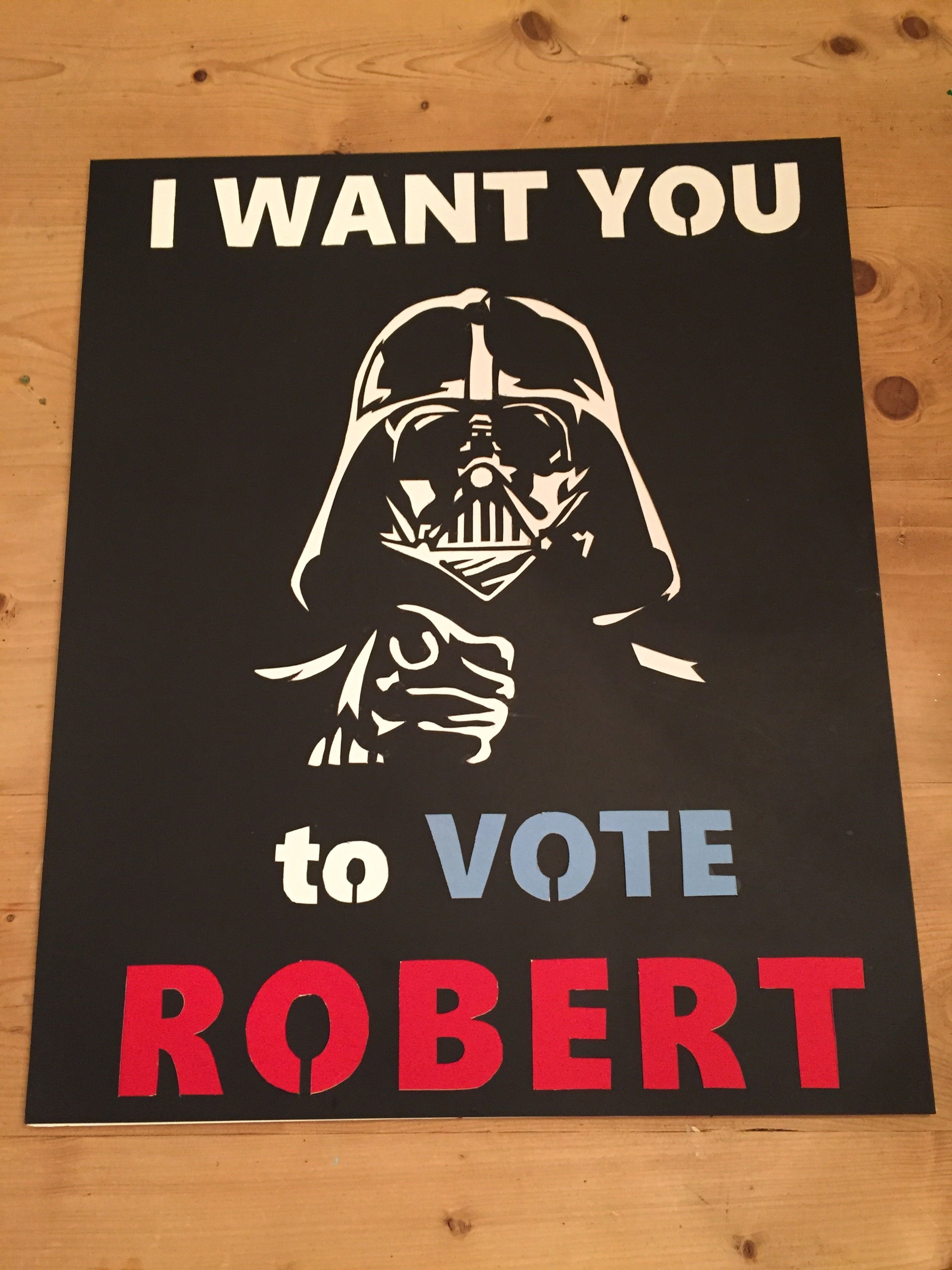 Student Council Poster Star Wars | Essential Projects ...
