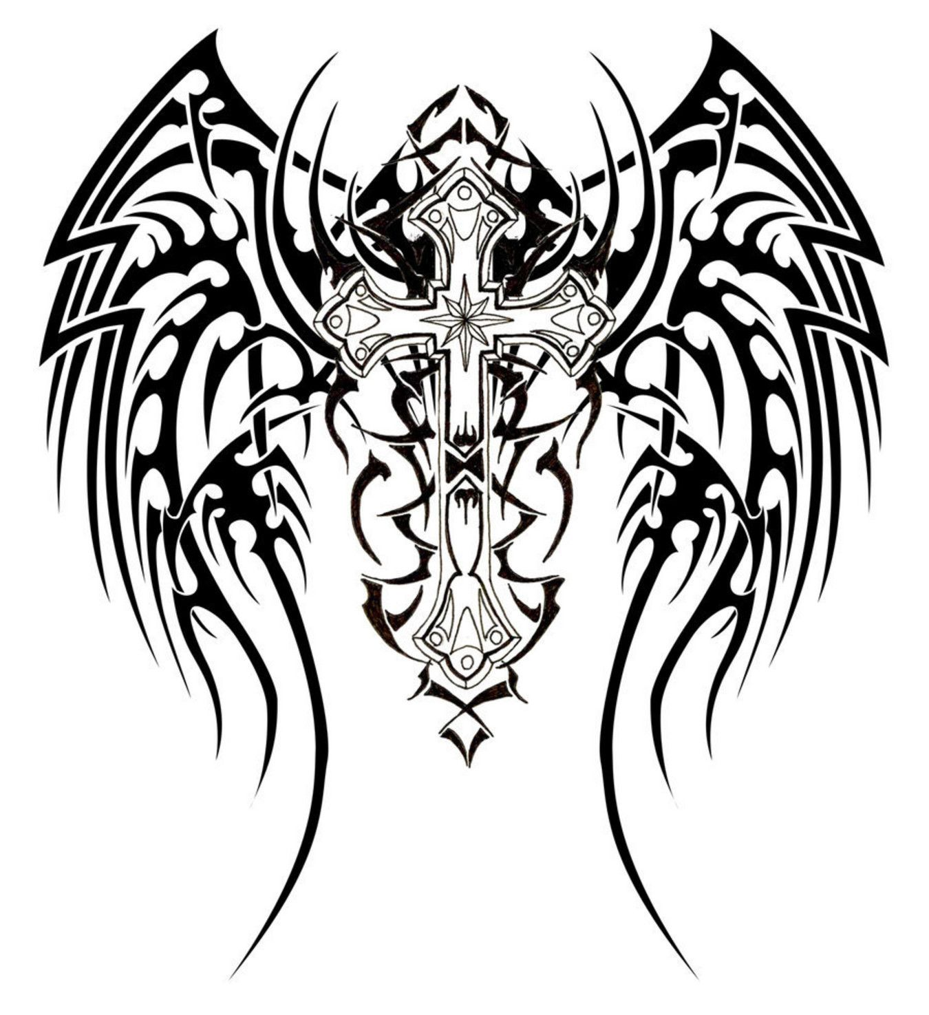 harley davidson symbol coloring pages tribal cross tattoos