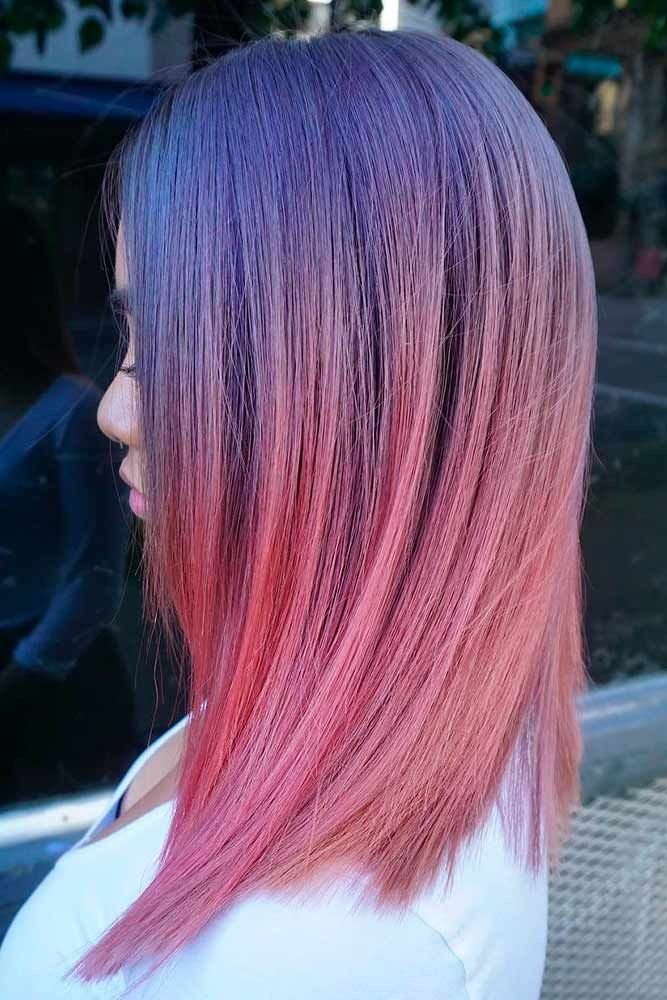 18 Totally Awesome Hair Color Ideas For Two Tone Hair Hair Styles Easy Hairstyles For Long Hair Cool Hairstyles