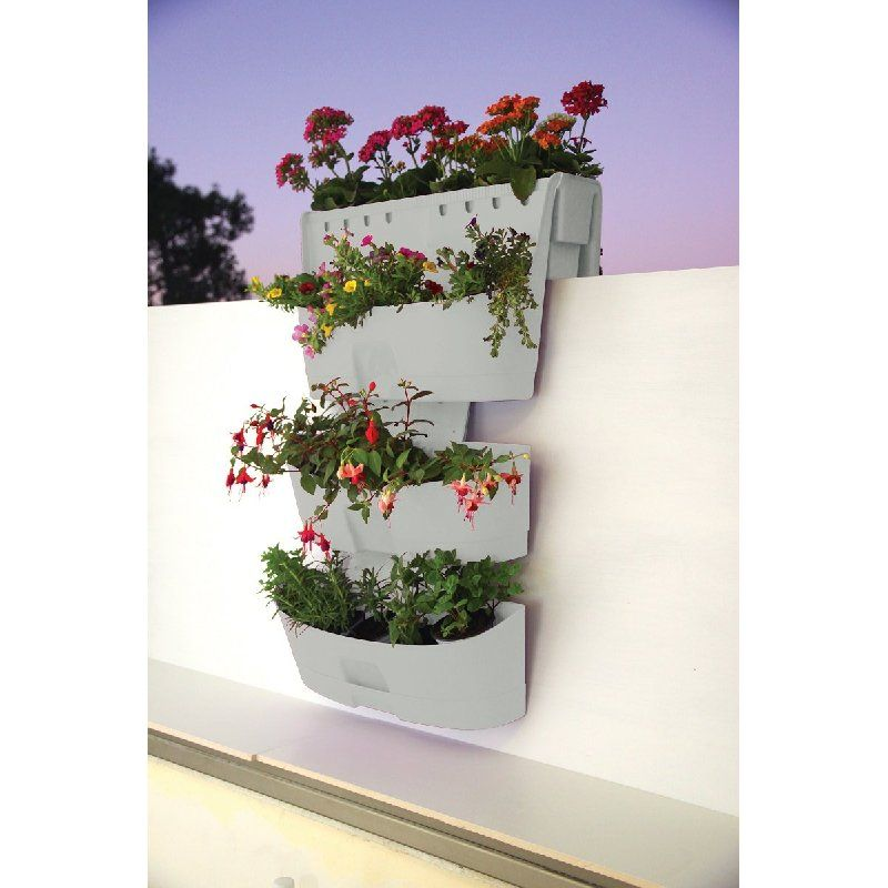Inspirational Hanging Balcony Planter