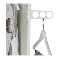 komplement valet hanger white. Black Bedroom Furniture Sets. Home Design Ideas