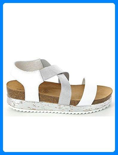 Grunland Sb0694 Sime Sandalo Donna P. Beige 37 EWrcDW