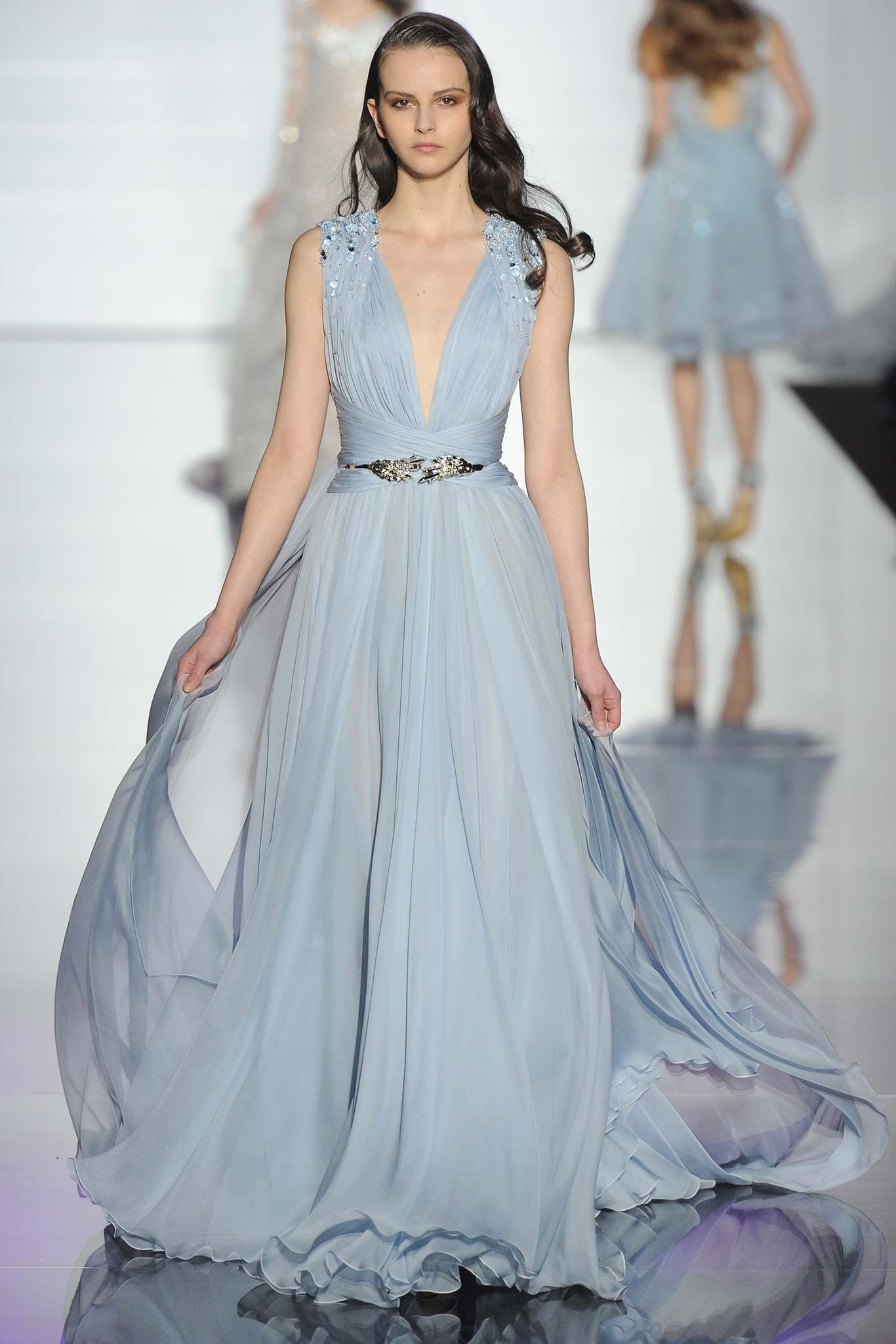 Runway zuhair murad spring couture collection gorgeous gowns