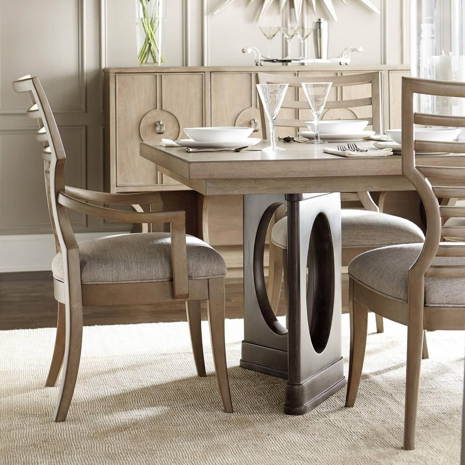 Virage 9Piece Double Pedestal Dining Table Setstanley Stunning Stanley Dining Room Set Review