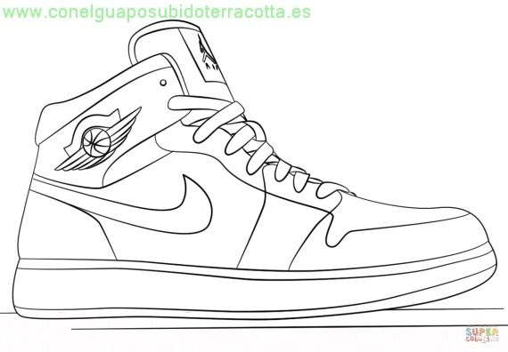 Botas De Futbol Para Colorear Dibujo Zapatillas Zapatos Dibujos Disenos De Zapatos