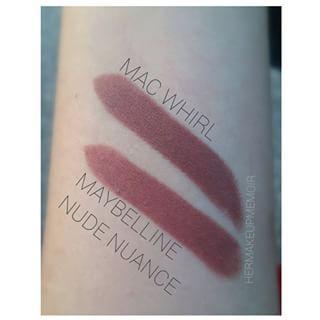 Nude nuance Maybelline Matte