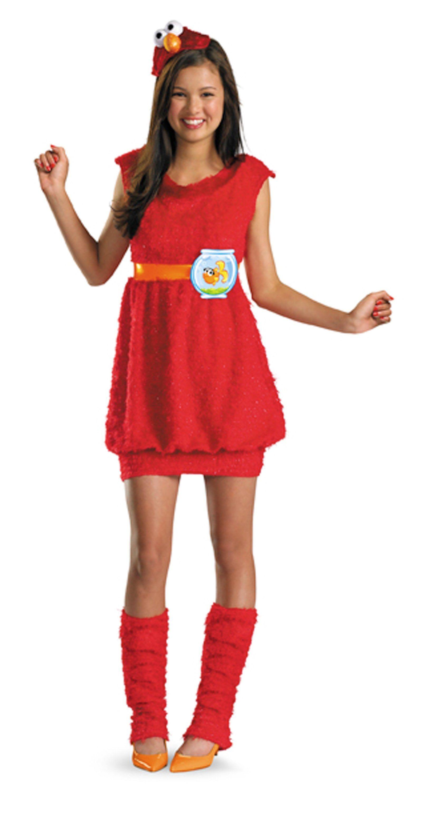 Girls Sesame Street Elmo Costume | Costumes, Elmo and Halloween costumes