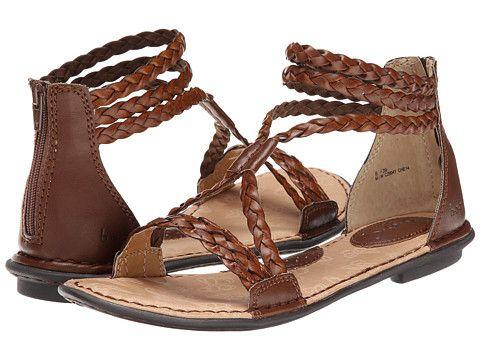 88baa44b0cf b.o.c. Macedonia Brown Gladiator Sandals