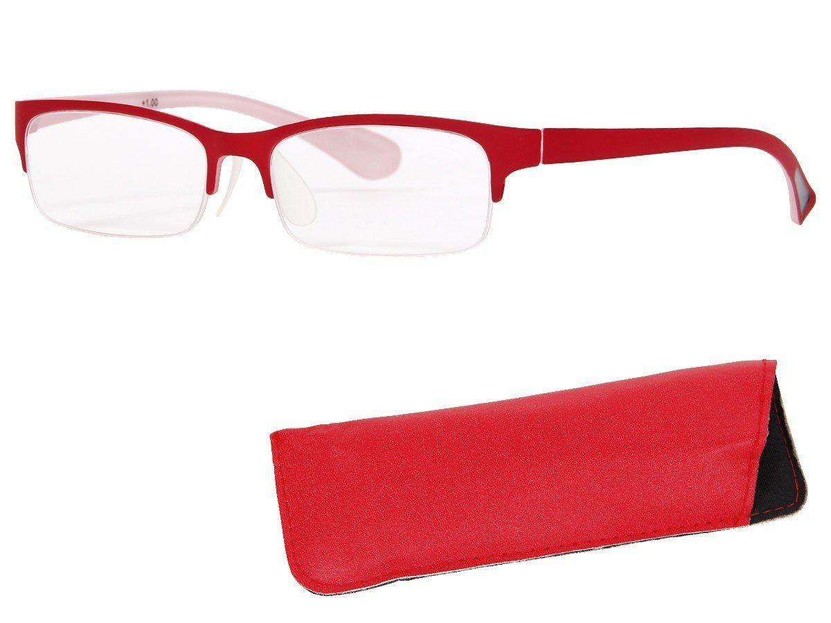 Schnäppchen für Mode Vereinigte Staaten abgeholt Alsino Lesebrille rechteckig Lesehilfe Augenoptik Brille ...