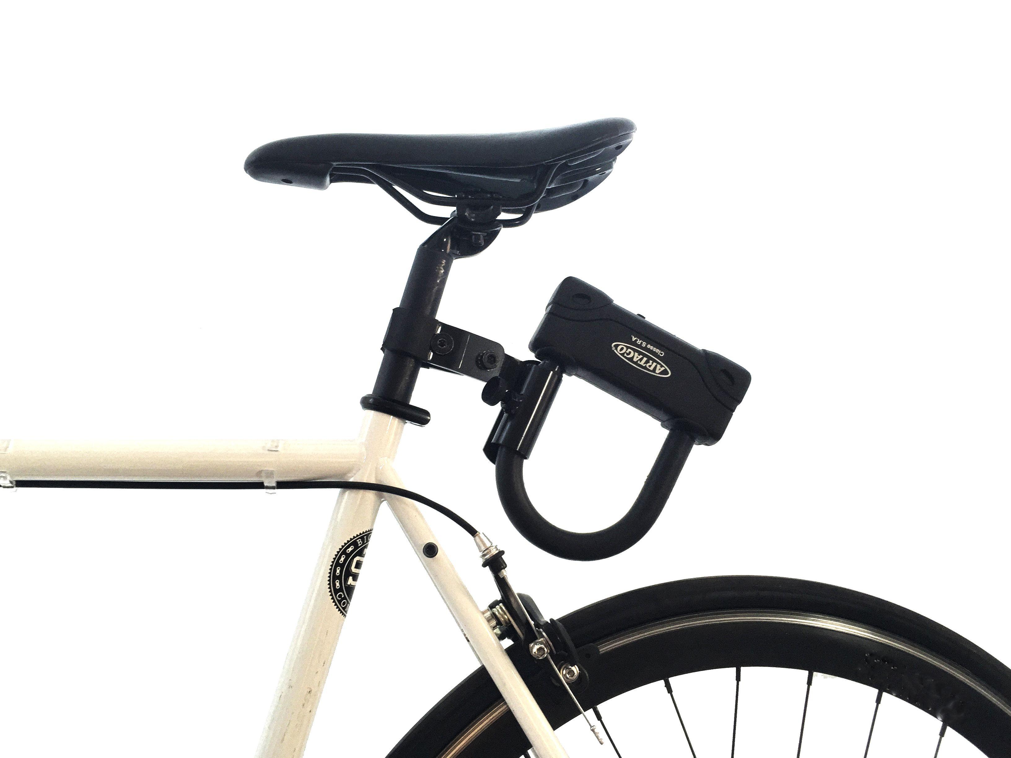 Artago Bicycle U Lock Holder Triathlon Bike Cycling Bikes Bicycle