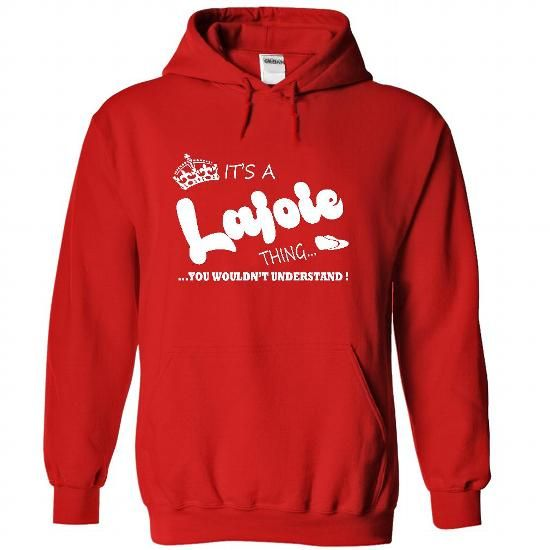 Its a Lajoie Thing, You Wouldnt Understand !! Name, Hoo - #gifts for boyfriend #small gift. BUY TODAY AND SAVE => https://www.sunfrog.com/Names/Its-a-Lajoie-Thing-You-Wouldnt-Understand-Name-Hoodie-t-shirt-hoodies-1368-Red-31925249-Hoodie.html?68278