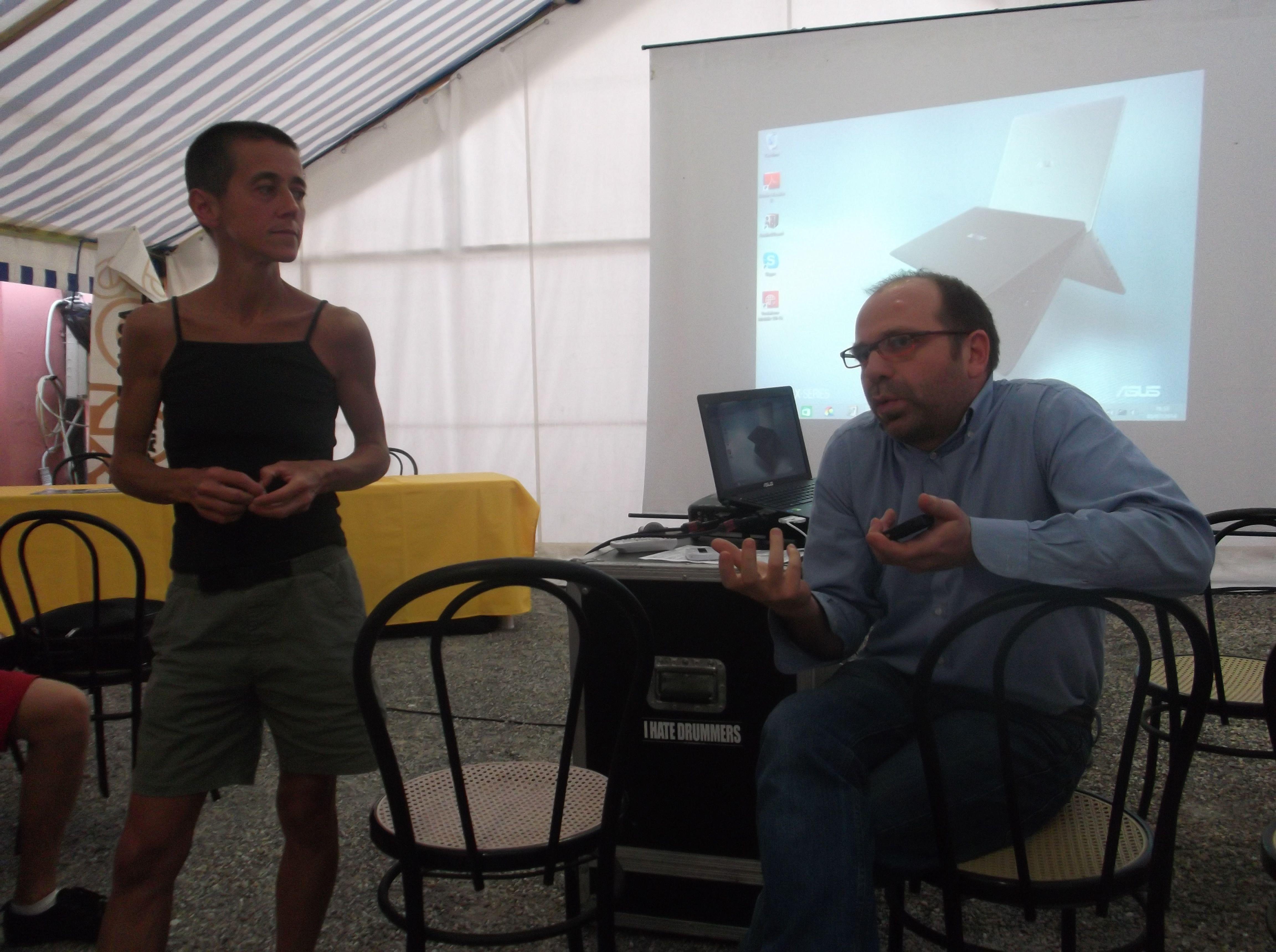 Michele parla della nascita dell'Associazione Italiana Lippolo
