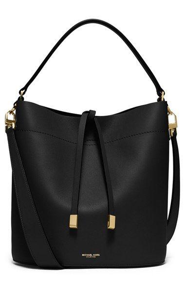 Free Shipping And Returns On Michael Kors Medium Miranda Leather Bucket Bag At Women S Handbags Wallets Bolsas Femininas Bolsa Michael Kors Bolsas De Couro