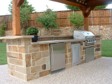 Outdoor Kitchens - traditional - patio - other metro - by Distinct by Design Custom Pools, Inc