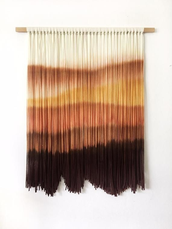 Modern fiber art wall hanging by Inspire By Kelsey This stunning one of a kind Modern fiber art wall hanging by Inspire By Kelsey This stunning one of a kind